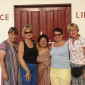 Christa, Josiane, Urmila, Betty Et Trudi